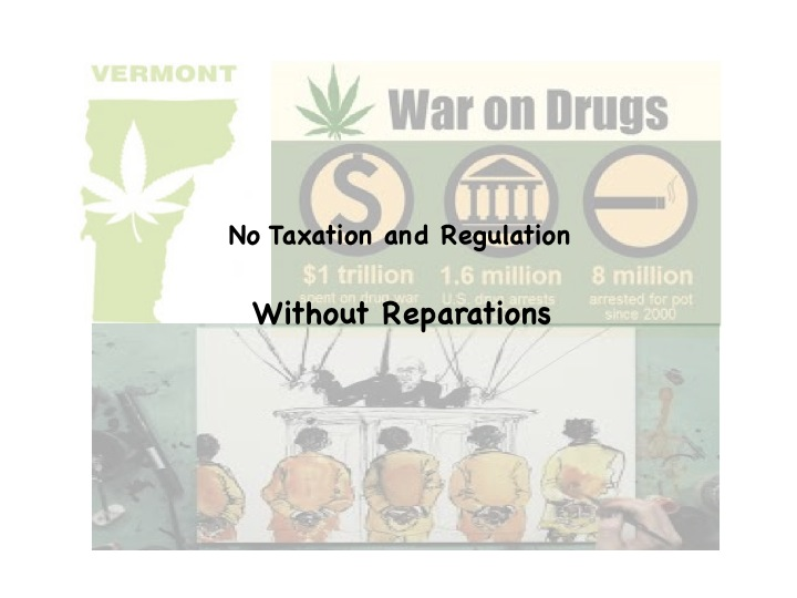 No Taxation or Regulation Without Reparations Campaign
