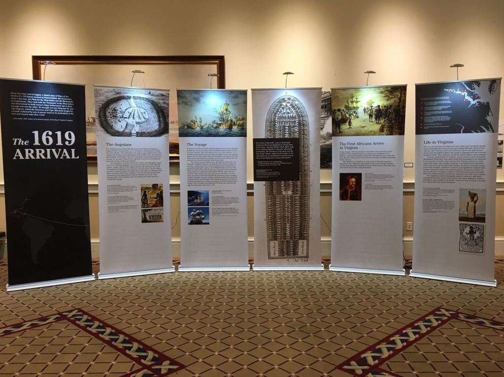1619: Arrival of the First Africans Traveling Exhibit