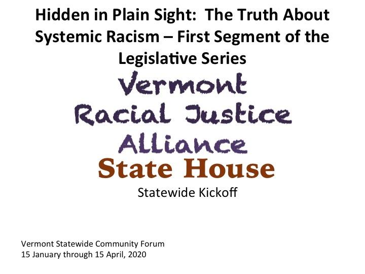 Racial Justice Alliance Legislative Series